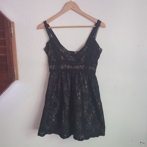Bar lll Black lace Sexy mini Dress Size Medium